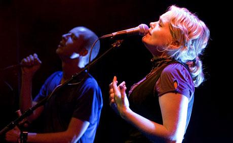 Ane Brun og Sivert Høyem hører du i NRK DAB Livemaraton. (Foto: Per Ole Hagen)