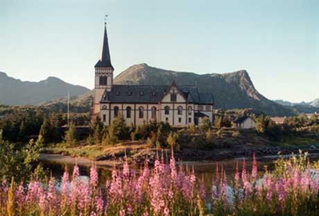 Lofotkatedralen. Foto: Scanpix