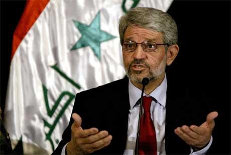 Iraks innenriksminister Bayan Jaber Solagh avviser at det ble brukt tortur mot fanger. (Foto: AFP/Scanpix)