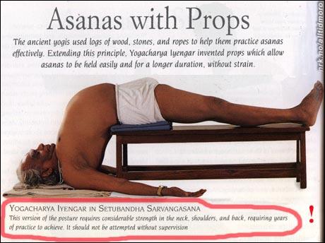 Indisk yoga.