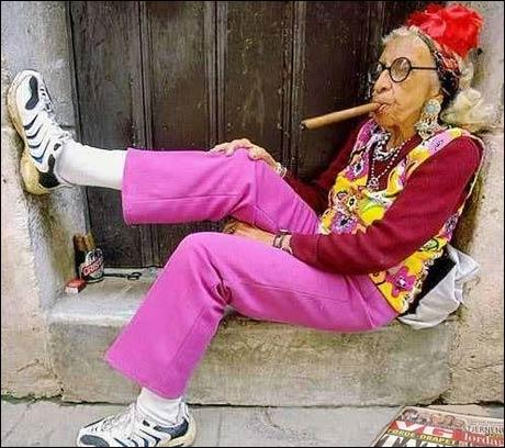 Guri Olsen er fornøyd med å ha fått plass på hippie-hjemmet.