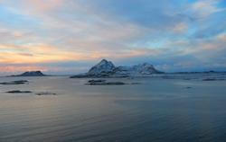 Utsikt mot vest. Foto:NRK