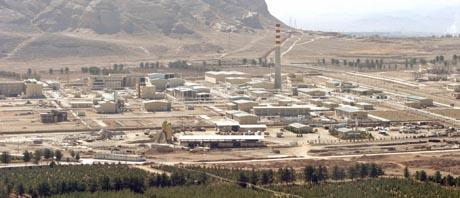 Her ved Isfahan-fabrikken gjenopptok iranerne uranium-produksjonen. (Foto: R.Homavandi, Reuters)