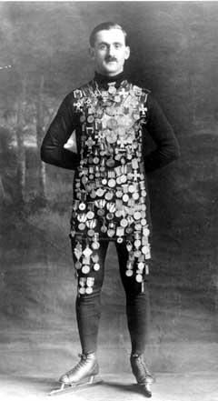 Oscar Mathisen (1888-1954) hadde verdensrekorden på 1500 meter i 23 år. (Foto: Scanpix)