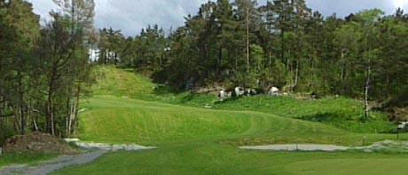 Golfbane ved Siljustøl. Foto: NRK: