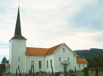 Åsnes kirke vil også huse radiogudstjenesten fire ganger i 2007. (Foto: Reuber)