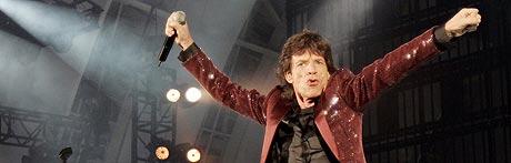 Mick Jagger kjem til Bergen. (Foto: Reuters/Robert Galbraith)