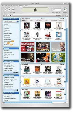 iTunes har et enormt utvalg av musikk, men er svake på nye norske utgivelser. Foto: iTunes.