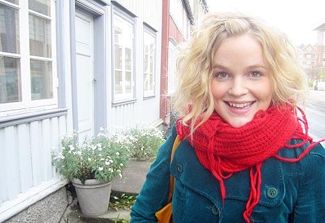 Gunnhild Sundli måtte gi seg i Gåte for å komme videre. Foto: Siri Høstmælingen, Lydverket.