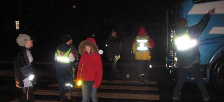 Trafikkaksjon Herøya (Foto:Christina Førli Aas-NRK)