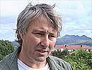 Steinar Pleym Pedersen ved Lofoten Sykehus.
