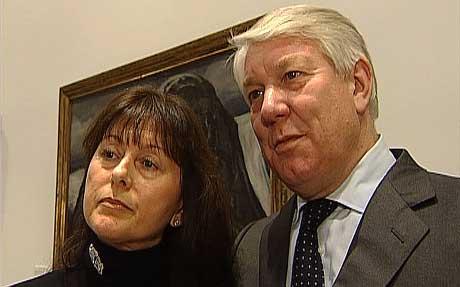 Signe Karin Øyre Brynildsen og Jon Christian Brynildsen. Foto: Therese Grimstad Pisani