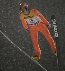 Anders Bardal fikk bare hoppet i prøveomgangen i finske Kuusamo fredag. (Foto: Erlend Aas / SCANPIX )