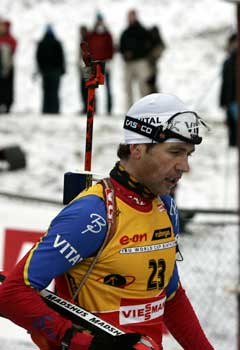 Ole Einar Bjørndalen ble nr.4. (Foto: Gorm Kallestad / SCANPIX)