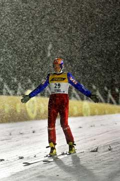 Daniel Forfang ble nummer fem i Kuusamo. (Foto: Erlend Aas / SCANPIX)