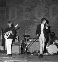 The Rolling Stones speler i Noreg i 1965. Foto: Aktuell/Scanpix