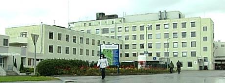 Molde sjukehus (Foto: NRK)