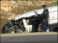Høyreekstreme Kahane ble drept da bilen han kjørte i ble beskutt (Foto: EBU)