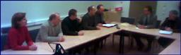 Delegasjonen frå Rauma i møtet på fylkeshuset.