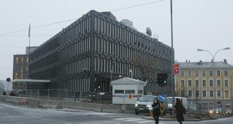 USAs ambassade på Drammensveien i Oslo. (Arkivbilde)