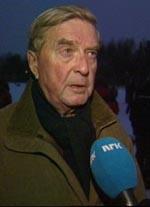 Oslo-ordfører Per-Ditlev Simonsen vil ha ambassaden på Huseby. (Foto: NRK)