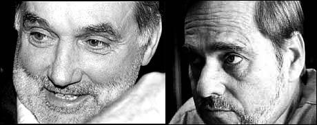 Jan Petersen og George Best. (Innsendt av Per Frederiksen)