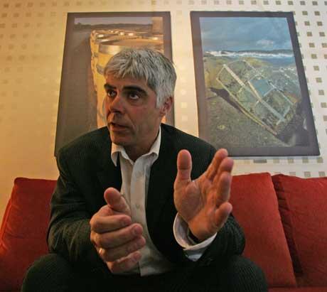 Petter Eide er overraska over at Kjell Inge Røkke er tildelt Peer Gynt-prisen. (Scanpix-foto)