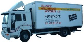 Disse små lastebilene rammes av den nye avgiften...