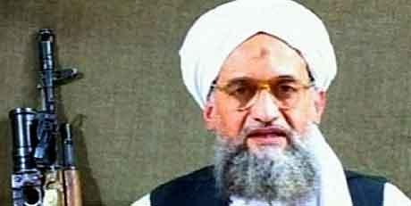 Al Qaida-lederen Ayman al-Zawahiri . (AL-JAZEERA)