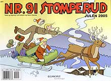 Nr. 91 Stomperud er ein av våre eldste teikneserieheltar.