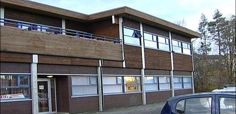 I dette bygget på Søreide planla Fremtiden barnehage 136 barnehageplasser. Foto: Gard Brox Jensen/NRK