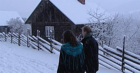 Her i Prøysenstua ved Præstvægen vokste Alf Prøysen opp. Foto: NRK
