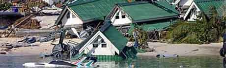 Den svenske rapporten om tsunamien kom i forrige uke. Bildet av er Thailand.
