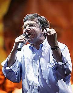 Seierssikker Joaquin Lavin.(Foto:Scanpix)