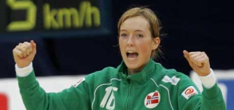 Katrine Lunde spilte stort i Norges mål. (Foto: Scanpix)