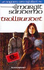 """Det første bindet i serien """"Sagaen om isfolket"""" av Margit Sandemo."""