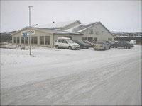 ANONYM I BYGRENSA: Her er Finnmarksienedommen. Ikkje akkurat land og vatn, men med alle rettar til å forvalte bilsal.