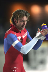 Eskil Ervik gleder seg å gå skøyte-EM på hjemmebane. (Foto: Scanpix)