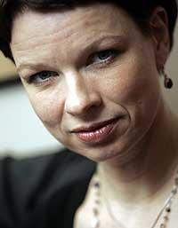 Linn Ullmanns kritikerroste roman «Nåde» ble tatt godt imot i Storbritannia (Foto: Scanpix)