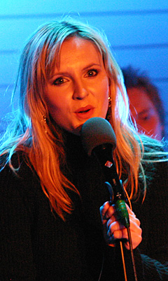 Hør Maria Arredondo synge julesanger i NRK P1 sent julaften. (Foto: Jon-Annar Fordal)