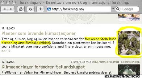 Hvor lave er norske forskere? Ekstremt lave, mener forskning.no. Eller er det snakk om lavstatusarbeid? (Innsendt av Leif Olav Jøsang)