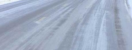 Det meldes om glatte veier flere steder i Hedmark