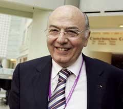 Lambis Nikolaou skal ha tastet feil under IOC-kongressen. (Foto: AP/Scanpix)