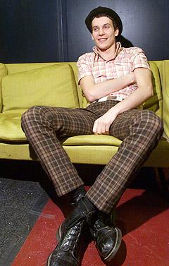 Håkan Hellström har gitt ut to plater i 2005, men tar nå pause på ubestemt tid. Foto: Bjørn Erik Larsen, Scanpix.
