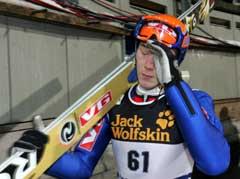 En skuffet Daniel Forfang etter kvalifiseringen. (Foto: Terje Bendiksby / SCANPIX)