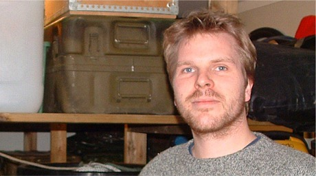 Marinarkeolog Øyvind Ødegård, Vitenskapsmuseet i Trondheim. Foto: Ivar Grydeland