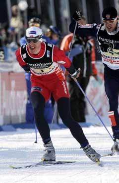Lars Berger var med å ta stafettgull i ski-VM forrige sesong. (Foto: Terje Bendiksby / SCANPIX)