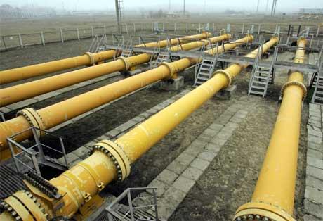 Pumpestasjonen i Pisarevskaja er den siste på russisk side for gass som sendes til Ukraina og Vest-Europa. (Arkivfoto: Viktor Korotajev/ Reuters/ Scanpix)