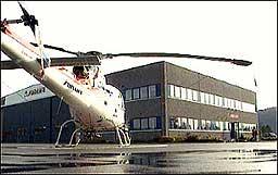 Airlift sin hovudbase på Bringeland. Arkivfoto