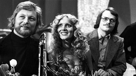 Den norske finalen i Melodi Grand Prix i 1976 ble vunnet av Anne Karine Strøm med sangen